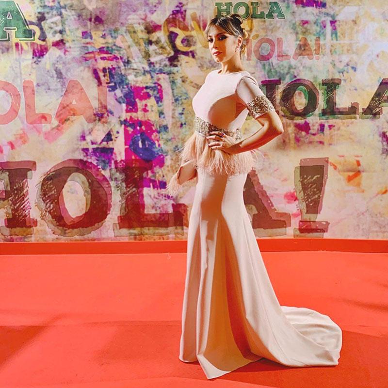 4- Estilismo para la cantante Gisela para Premios Feroz 2020